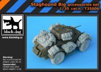 T35006 1/35 Staghound Big accessories set Blackdog