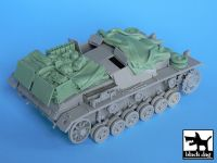 T35009 1/35 Stug III C/D accessories set Blackdog