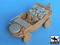 T35012 1/35 Schwimmwagen accessories set Blackdog