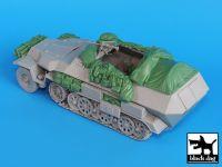 T35018 1/35 Sdkfz 251 C accessories set Blackdog