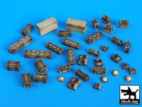 T35021 /35 British equipment accessories set Blackdog