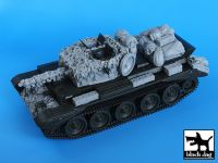 T35023 1/35 Cromwell hessian tape camo net Blackdog