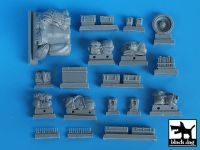 T35024 1/35 Cromwell accessories set Blackdog