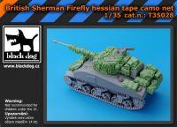 T35028 1/35 British Sherman Firefly hessian tape camo net Blackdog