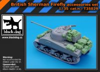 T35029 1/35 British Sherman Firefly accessories set Blackdog