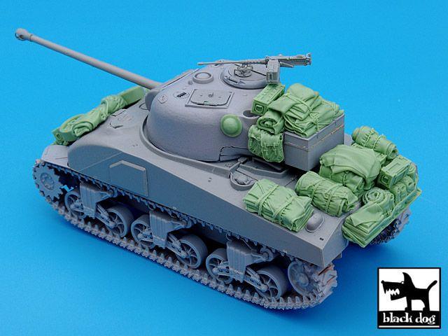 T35029 1/35 British Sherman Firefly accessories set Blackdog