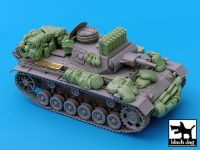 T35030 1/35 Pz.Kpfw.III Ausf.N accessories set Blackdog