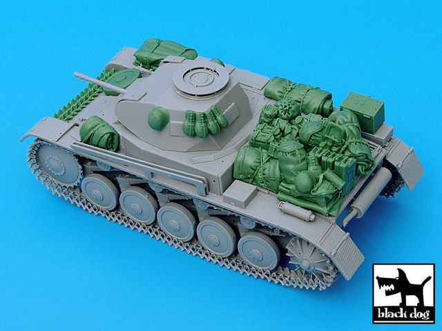 T35032 1/35 Pz.Kpfw. II Ausf C accessories set Blackdog