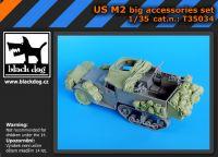 T35034 1/35 US M2 big accessories set Blackdog