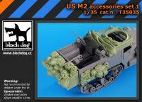 T35035 1/35 US M2 accessories set N Blackdog