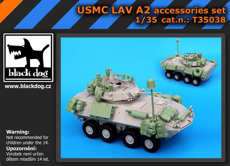 T35038 1/35 USMC LAV A2 accessories set Blackdog
