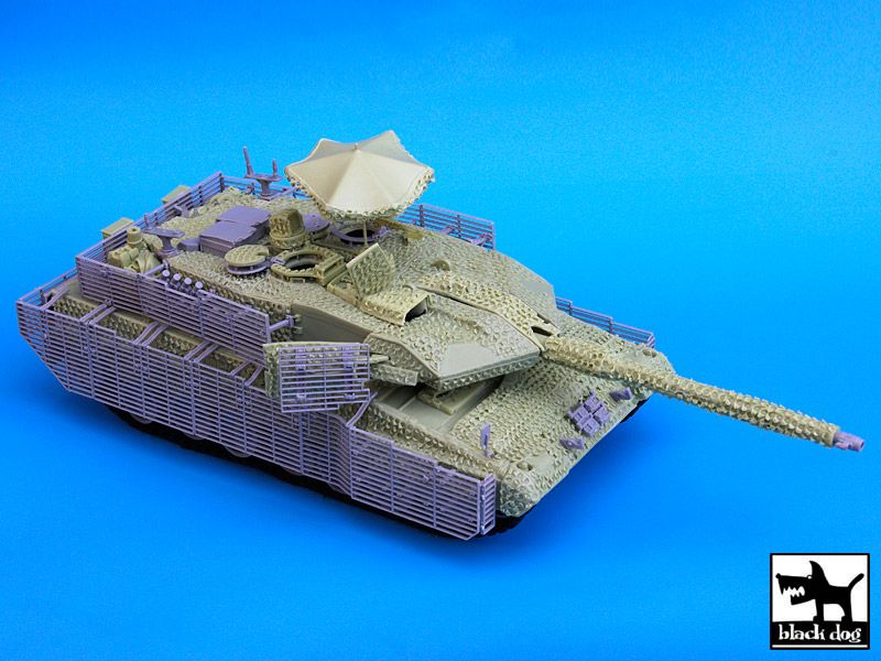 T35039 1/35 LEOPARD 2A6M CAN BARRACUDA Blackdog