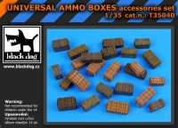 T35040 1/35 Universal ammo boxes Blackdog