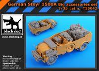 T35042 1/35 German Steyr 1500Abig accessories set Blackdog