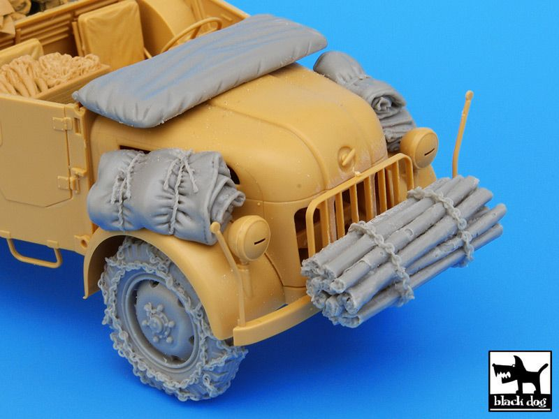 T35043 1/35 German Steyr 1500A accessories set Blackdog