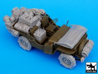 T35044 1/35 US Jeep big accessories set Blackdog