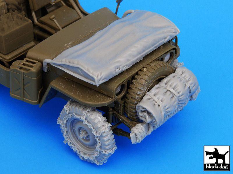 T35045 1/35 US Jeep accessories set Blackdog