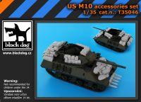 T35046 1/35 US M 10 accessories set Blackdog