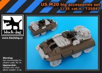 T35047 1/35 US M 20 big accessories set