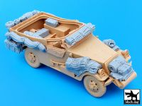 T35049 1/35 US M3A1 Scout Car Blackdog