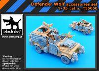T35050 1/35 Defender Wolf accessories set Blackdog