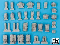 T35054 1/35 Canadian equipment accessories set Blackdog