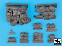 T35056 1/35 M5A1 accessories set Blackdog