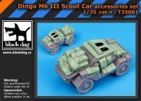 T35061 1/35 Dingo Mk III Scot car accessories set Blackdog