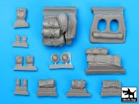 T35061 1/35 Dingo Mk III Scot car accessories set Blackdog