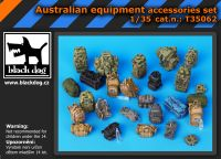 T35062 1/35 Autralian equipment accessories set Blackdog