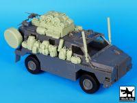 T35064 1/35 Australia Bushmaster accessories set Blackdog