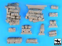 T35070 1/35 M24 Chaffe accessories set Blackdog