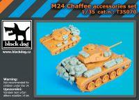 T35070 1/35 M24 Chaffe accessories set
