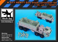 T35071 1/35 M977 Hemtt Gun truck Blackdog