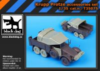 T35075 1/35 Krupp Protze accessories set Blackdog