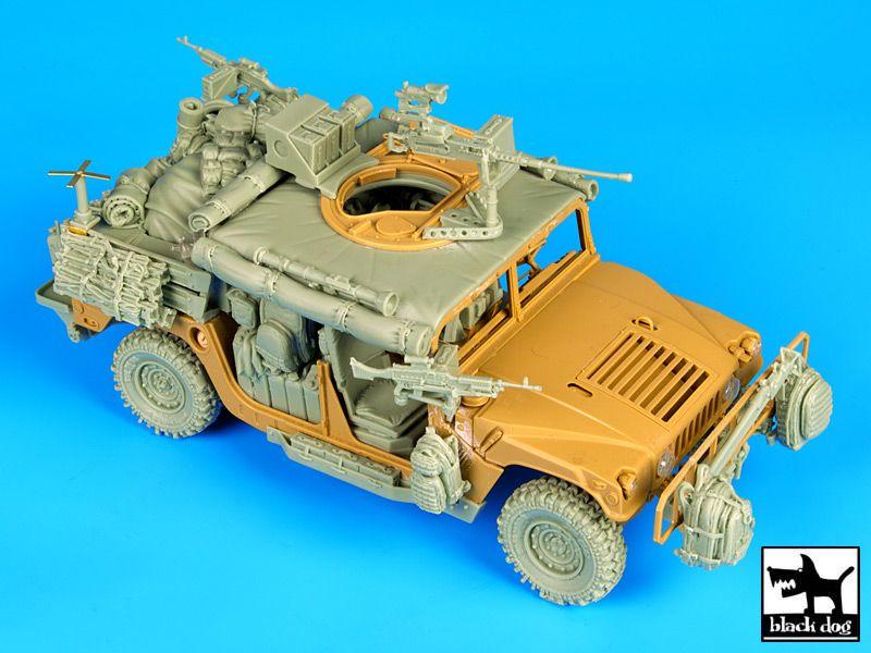T35076 1/35 HUMVEE Special forces conversion set Blackdog
