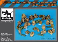 T35082 1/35 British modern equipment accessories set Blackdog