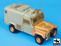 T35086 1/35 Landrover Defender Snatch conversion set Blackdog