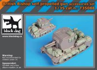 T35088 1/35 British Bishop accessories set Blackdog