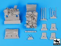 T35097 1/35 Us Jeep airborne before drop accessories set Blackdog