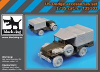 T35102 1/35 US Dodge accessories set Blackdog