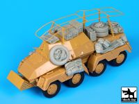 T35104 1/35 Sd Kfz 263 accessories set Blackdog