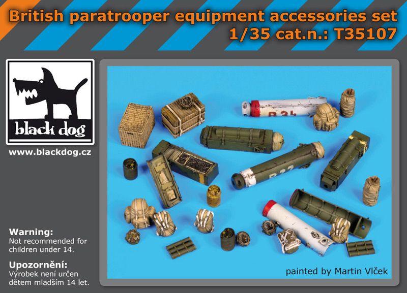 T35107 1/35 British paratrooper equipment accessories set Blackdog