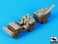 T35110 1/35 British para Jeep before drop accessories set Blackdog