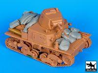 T35114 1/35 Carro Armato L6 accessories set Blackdog