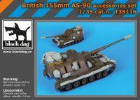 T35116 1/35 British 155mm AS 90 accessories set Blackdog