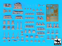 T35117 1/35 Land Rover Pink Panther accessories set Blackdog