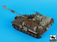 T35122 1/35 M-109 A6 Paladin accessories set Blackdog