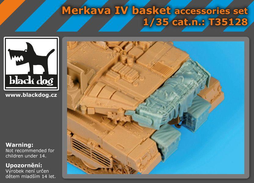 T35128 1/35 Merkava IV basket accessories set Blackdog