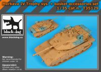 T35129 1/35 Merkava IV Trophy syst Blackdog